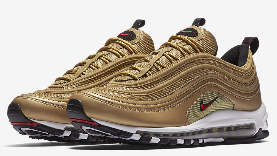 21dfada5 Nike Air Max 97 OG 'Metallic Gold' 884421-700 Release Date 2018 | Sole  Collector