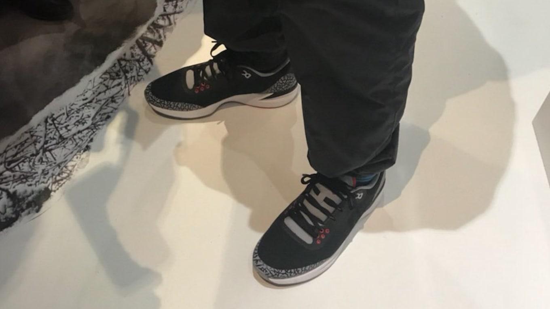 8c1a791550ca1f Justin Timberlake Debuts Another  Black Cement  Jordan. The Jordan Zoom  Tenacity  88.