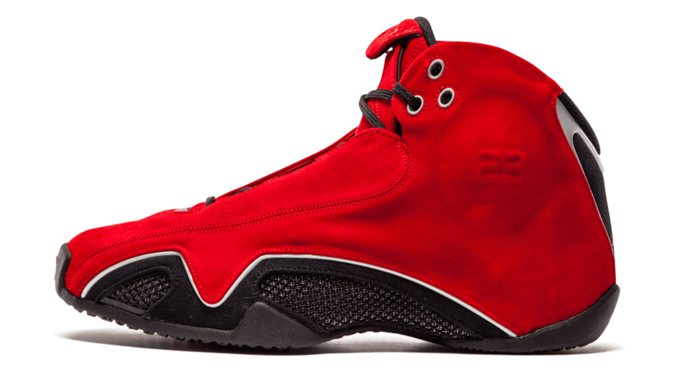 3cdf406471c1 Air Jordan 21  Red Suede . Image via Stadium Goods