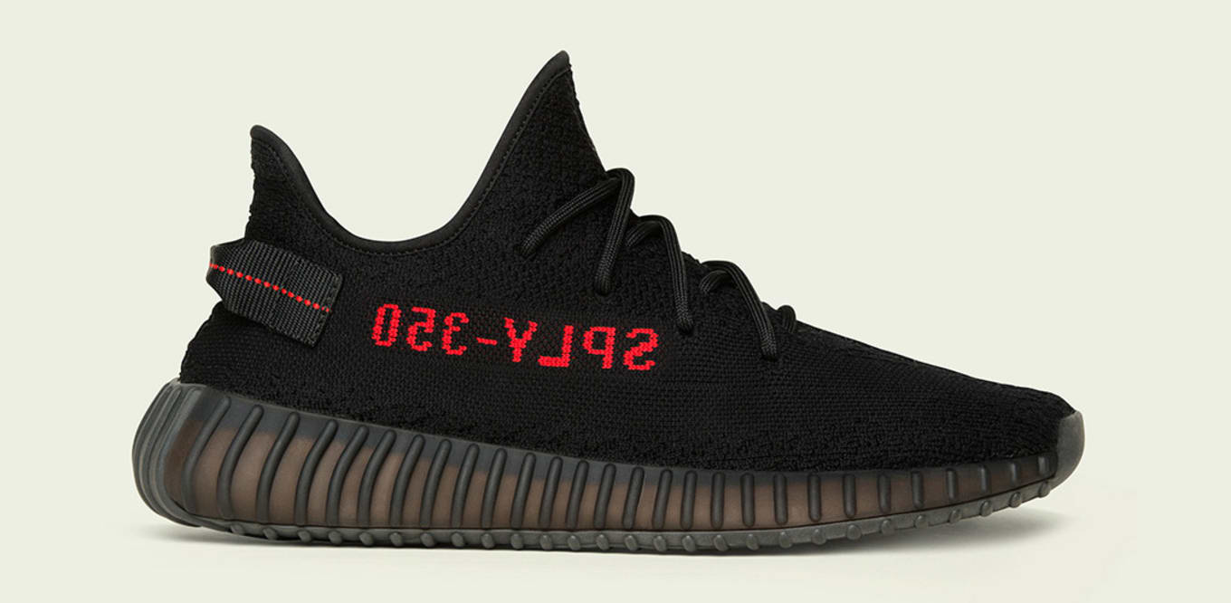 c646be0b7023b Adidas Yeezy 350 Boost V2  Black Red