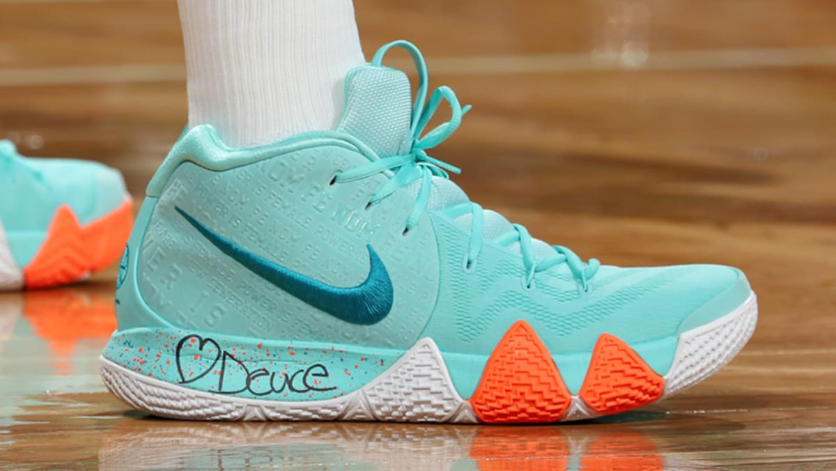 cd62dc68570 Nike Kyrie 4 Power Is Female