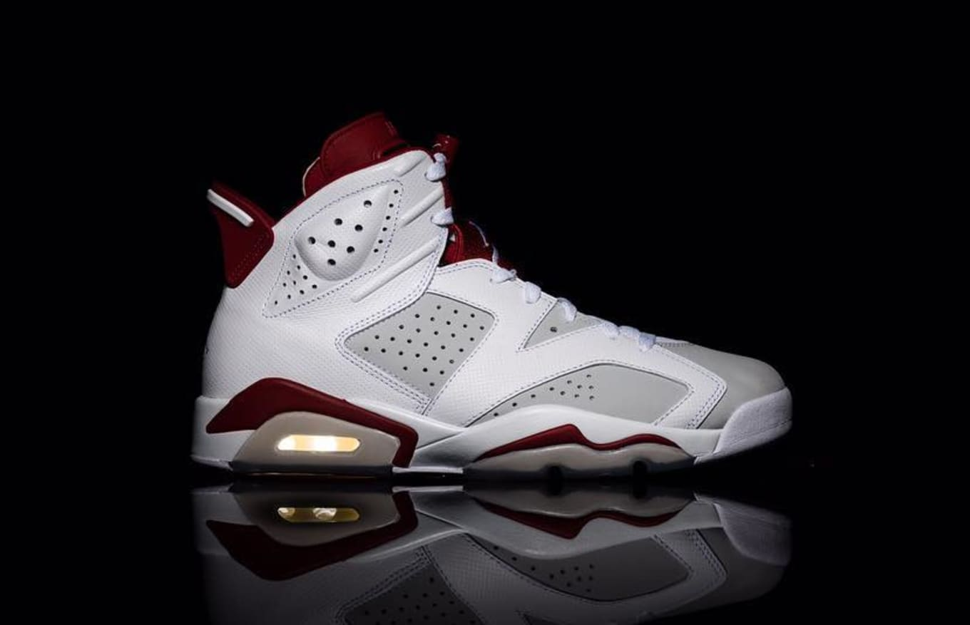 7e8c08cfe705de The  Alternate 91  Air Jordan 6 Now Has A Release Date. A new take on the Maroon  6.