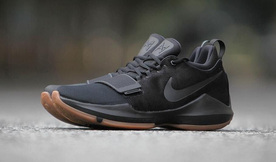 Latest Nike PG 1 BlackAnthraciteLight Brown Gum