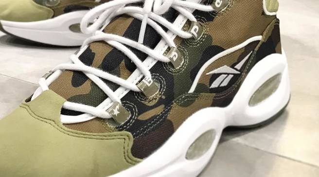 6ba76650c See What the Bape x Reebok Question Looks Like On-Foot