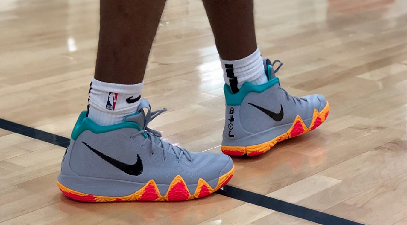 38e944b90096d New Kyrie 4s for Nike s 2018 Skills Academy