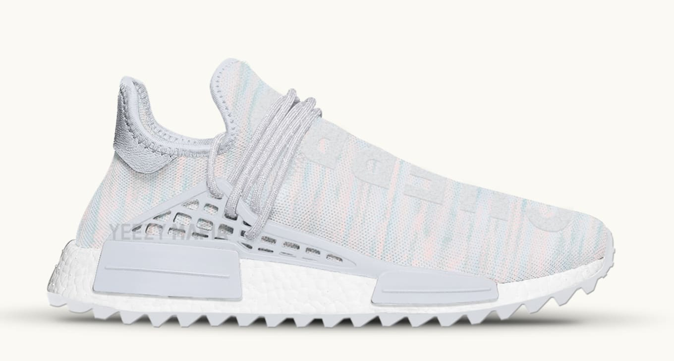 best website 85528 848b0 BBC Exclusive Adidas Human Race NMD TR 'Clear Grey' Release ...