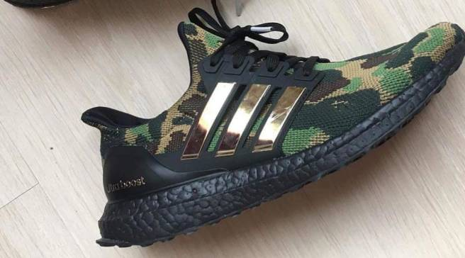484bbb40bea2e First Look At Bape s Adidas Ultra Boost Collaboration