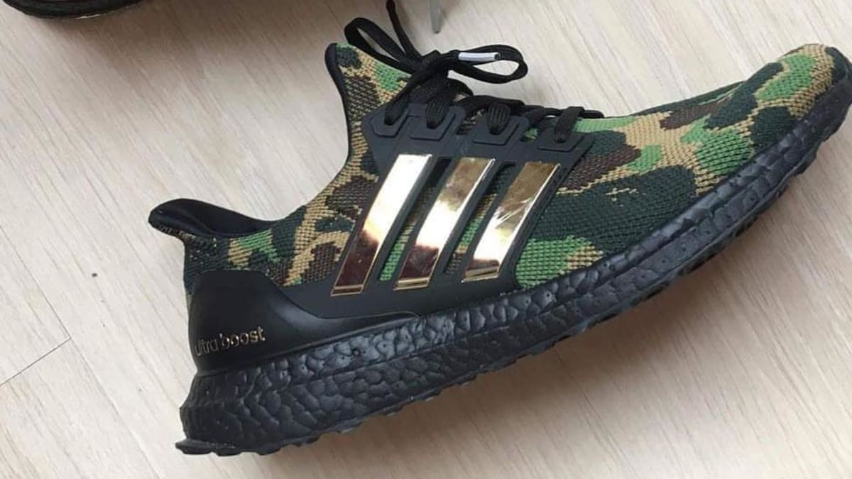 092e413b3795a Bape x Adidas Ultra Boost Collaboration Release Date