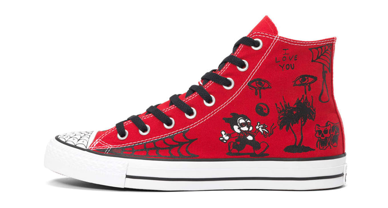 9864c9de5d40 Sean Pablo Converse Chuck Taylor All Star Red