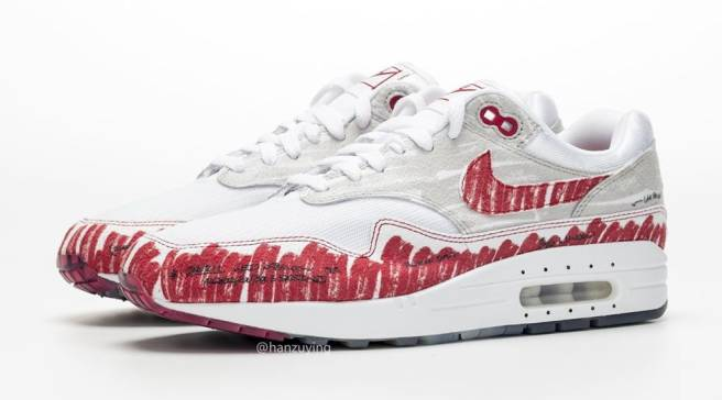 8bae614037be8 These Air Max 1s Look Like Tinker Hatfield's Original Sketch