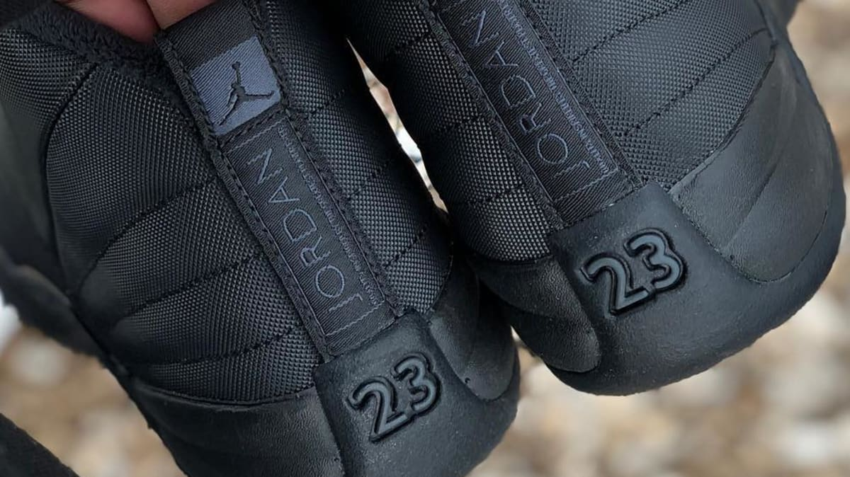 the best attitude 51a30 de802 Air Jordan 12 Black Winterized BQ6851-001 Release Date ...