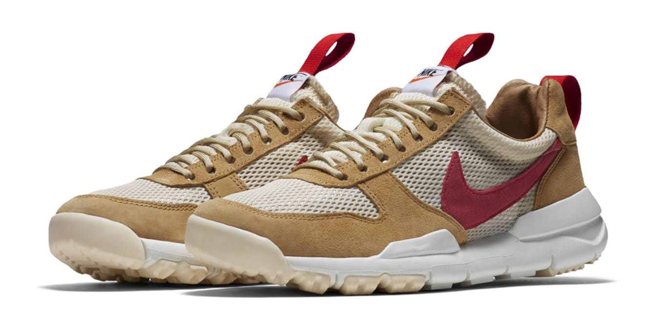 Tom Sachs x Nike Mars Yard Mid TS  White Sport Red Black Cobalt ... e2d571476