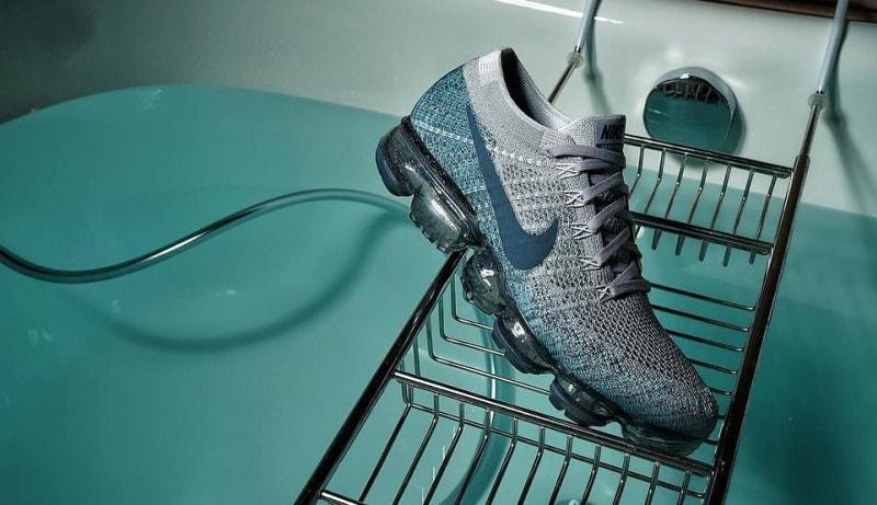 Nike Vapormax Grey And Green