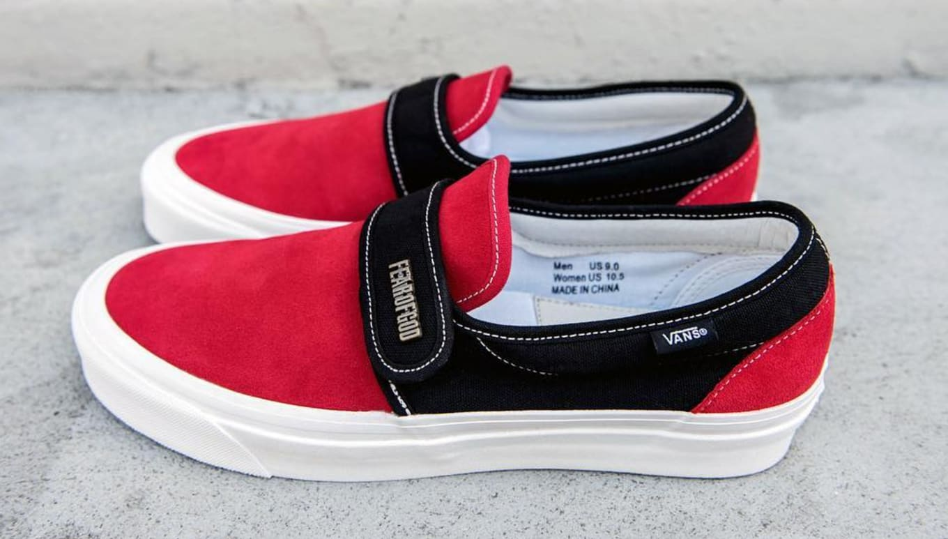 bf73e2112bb Vans Fear of God Slip On Strap Style 147