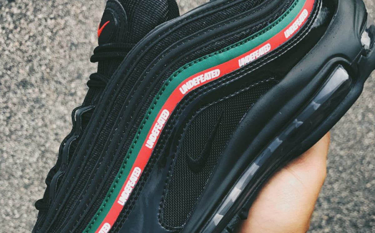 info for cbd7e 53699 Undefeated x Nike Air Max 97 Three Colorways September 2017 Release Date    Sole Collector