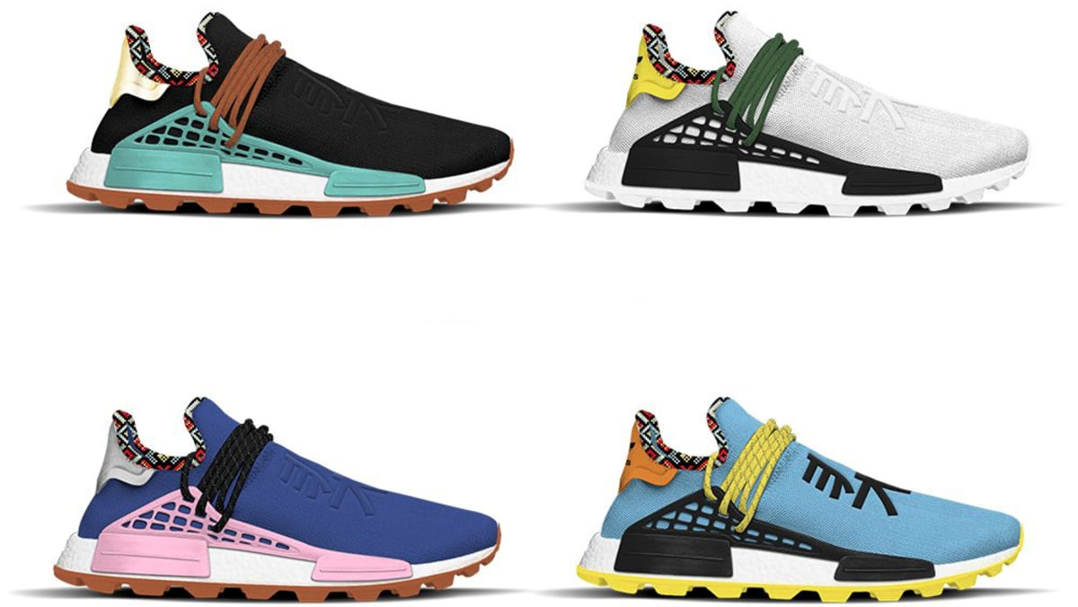 300334ecd Pharrell Williams x Adidas NMD Hu  Inspiration  Pack Release Date ...