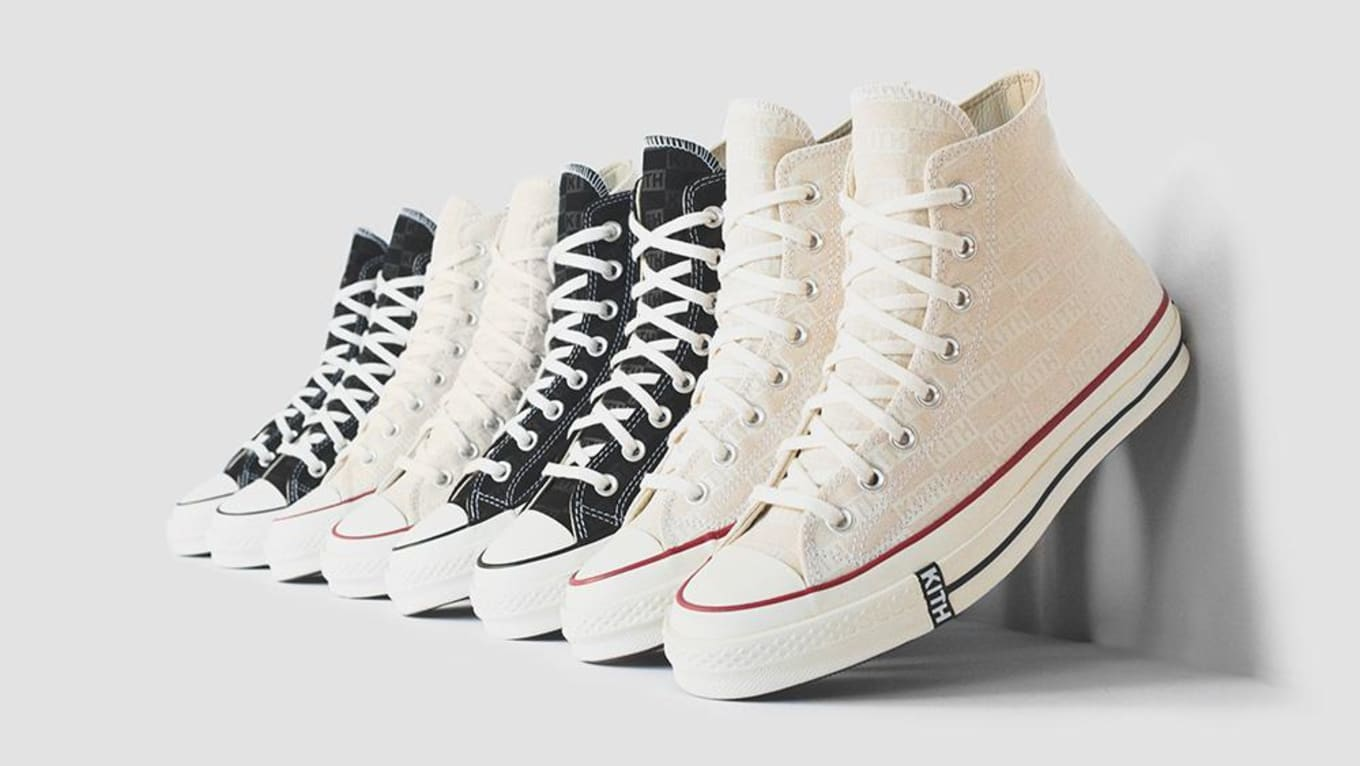 3f36e0a047 Kith x Converse Chuck Taylor All Star 1970s Collection Release Date ...