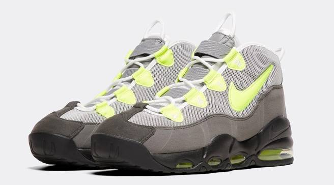 cheap for discount 5ae54 a76df This Nike Air Max Uptempo Draws Inspiration From the  Neon  Air Max 95