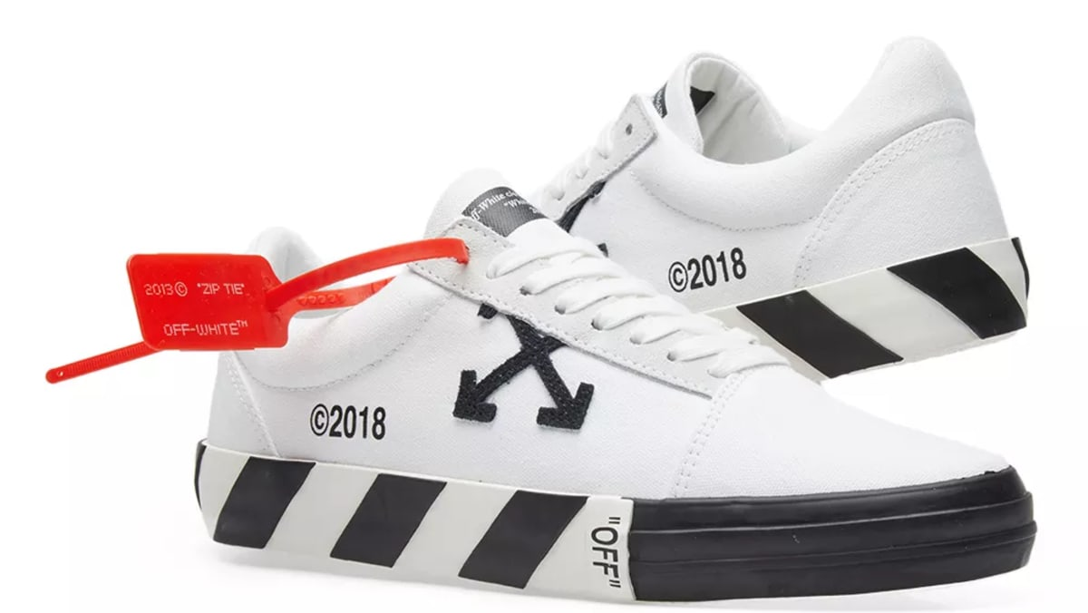 73c2c70406 Virgil Abloh s New Off-White Sneakers Look Like Vans