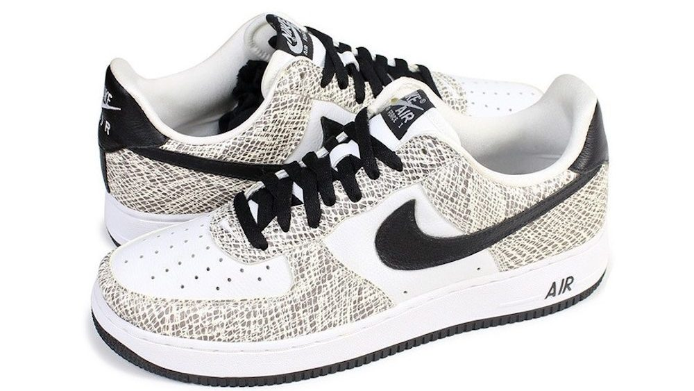 Nike Air Force 1 Low Retro 'Cocoa Snake' 845053-104 Release Date ...