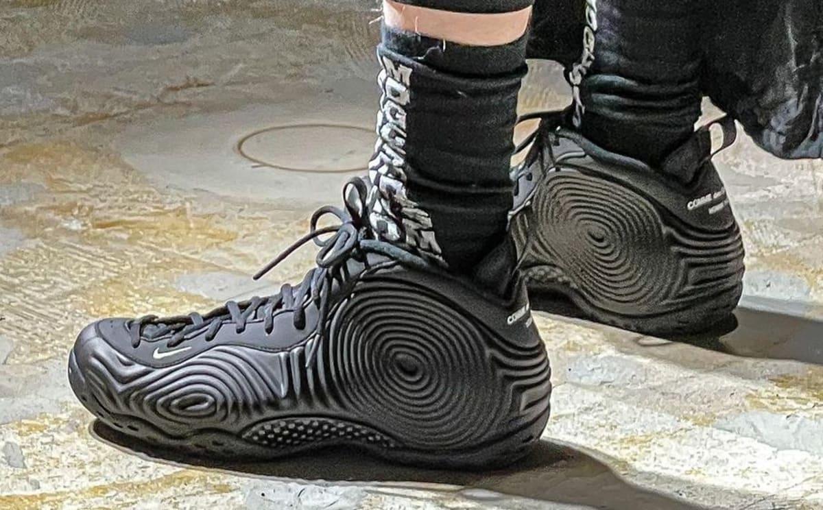 Comme des Garçons Gets a Nike Foamposite Collab