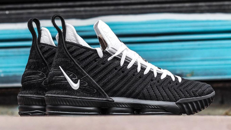 d5ef10cf0869 Nike LeBron 16 Four Horsemen Release Date CI7862-001 Profile
