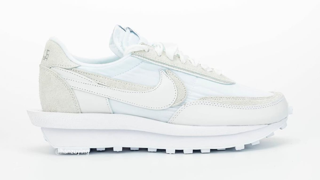 Sacai x Nike LDWaffle Black and White Release Date BV0073