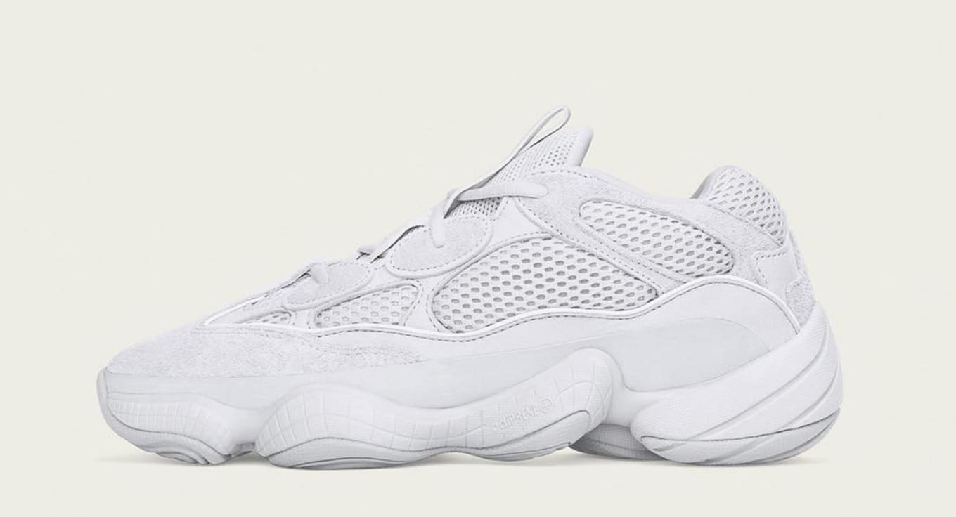 outlet store 561d7 d3b84 Adidas Yeezy 500 'Salt' EE7287 Release Date | Sole Collector