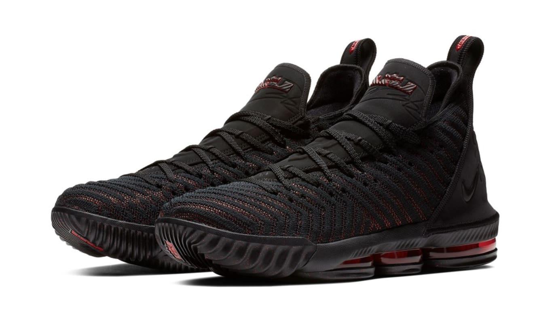 8d6d108f0ee Nike LeBron 16  Fresh Bred  AO2588-002 Release Date