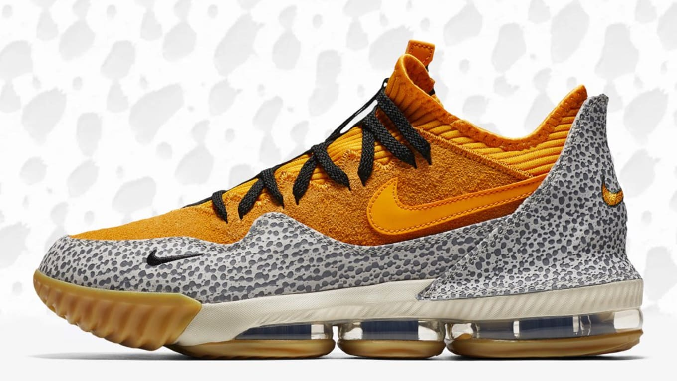 reputable site 943fe 13075 First look at the Atmos-inspired  Safari  LeBron 16 Low.