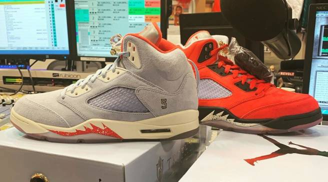 680bf99258fb Release Date Revealed for the Trophy Room x Air Jordan 5