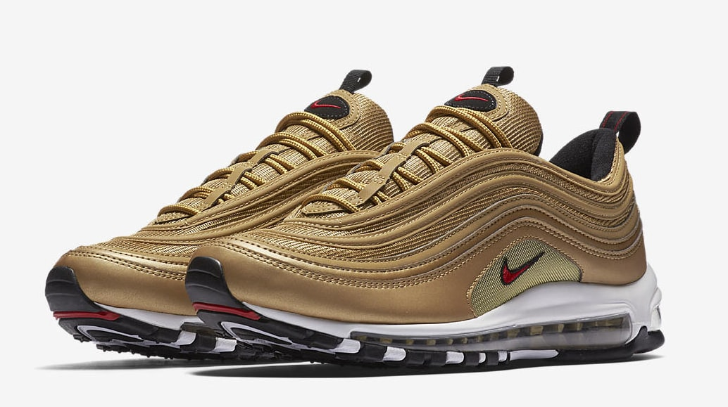 Nike Air Max 97 CR7 'Golden Patchwork' Release Date. Nike⁠+
