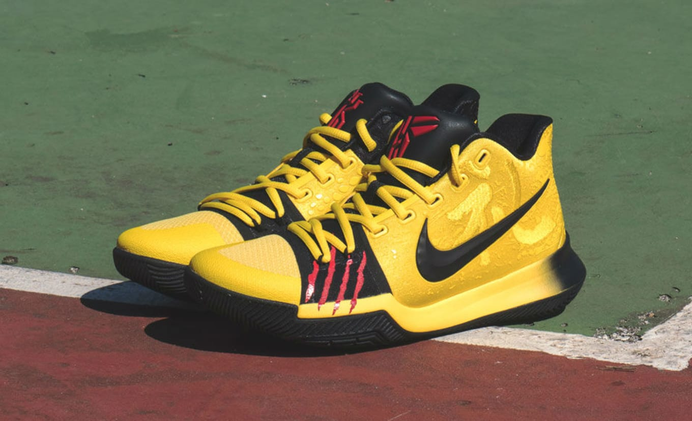 the latest 7446c 42bd1 Nike Kyrie 3 Mamba Mentality Bruce Lee Restock AJ1672-700 ...