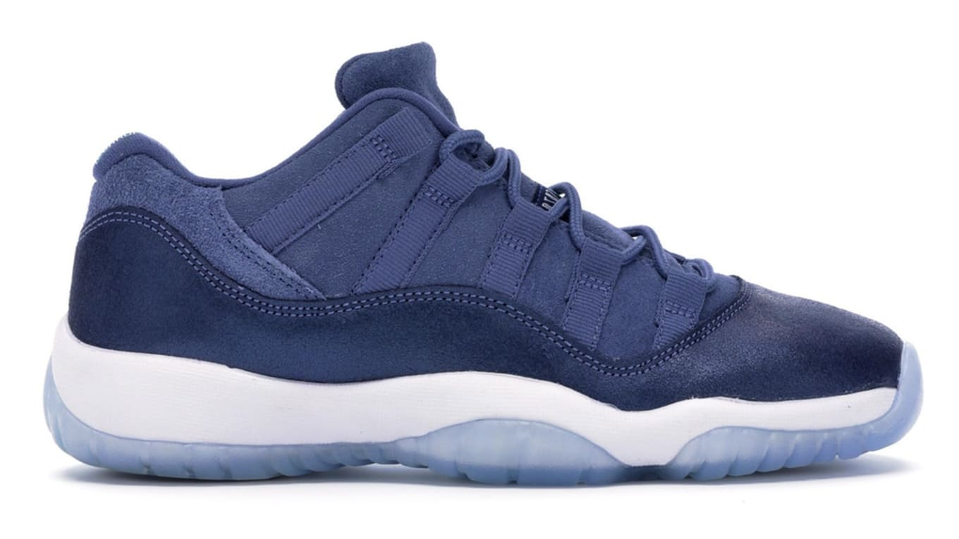 official photos 42571 683a6 Air Jordan 11 Low GG  Blue Moon