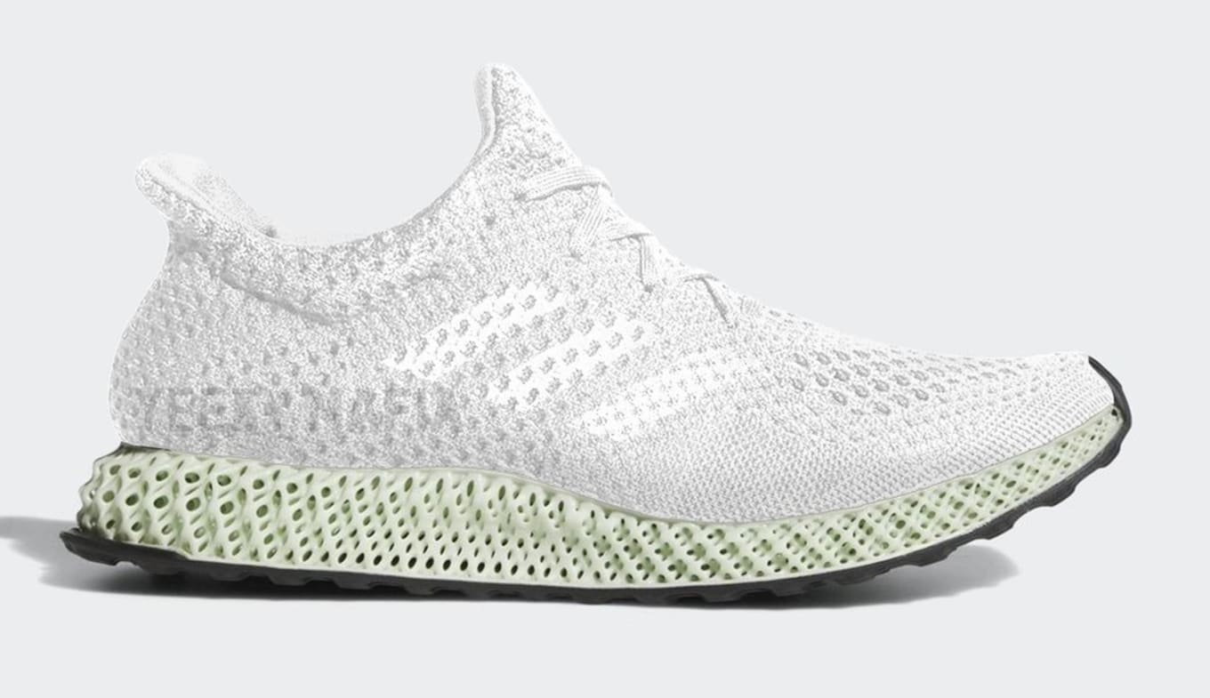 f5159306a48251 Adidas Futurecraft 4D Footwear White Ash Green Friends and Family ...