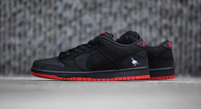 online store de55b fd122 Hiroshi Fujiwara Has One-Of-One Staple x Nike 'Black Pigeon' Dunk ...