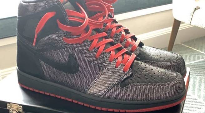 f37b246f6161 PJ Tucker Shows Off His  SP Gina  Air Jordan 1s