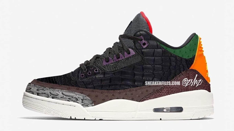 Nike Air Max 1 Leopard Print Safari Vi Air Jordan 6 Black Red