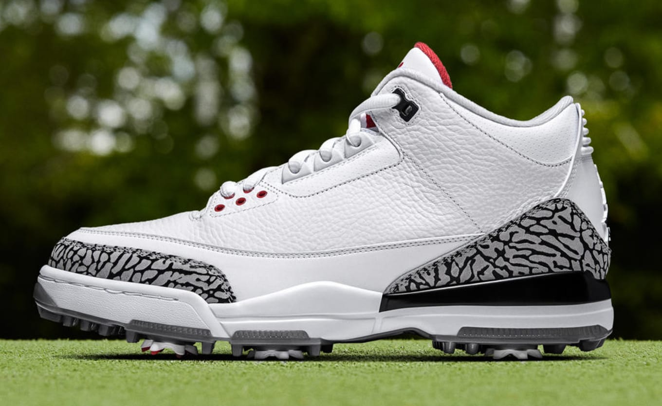 091b6334382 Air Jordan 3 Golf  White Cement  and  Bronze  Release Date
