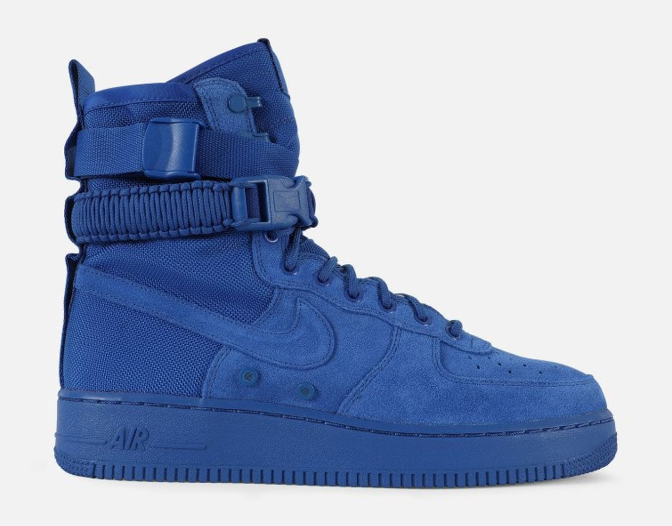 27368905b Nike SF Air Force 1 Blue Suede Release Date 864024-401