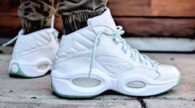 The Reebok Question Returns in  Mint Glow  27a5cc68d