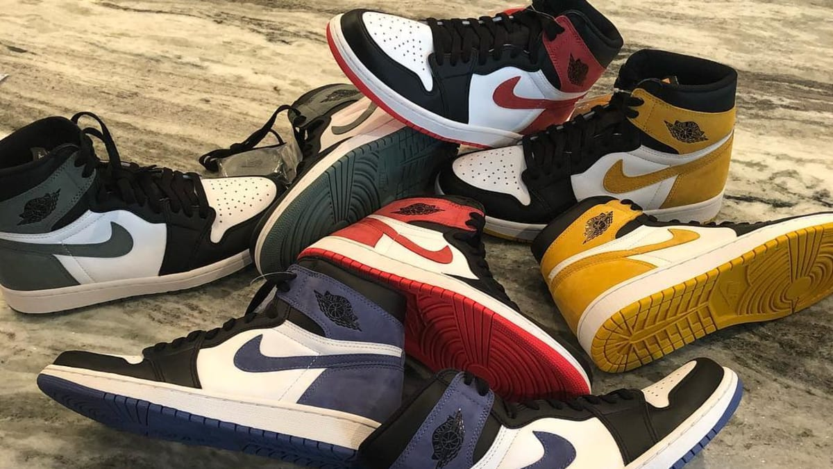 7930747fc3a Air Jordan 1 Retro High OG '6 Rings' Pack 555088-112 555088-109 555088-115  555088-135 Release Date | Sole Collector