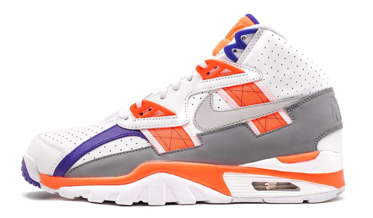 official photos 2d05b dc404 Bo Jackson Nike Air Trainer SC High Auburn 2017 Release Date Profile  302346-106   Sole Collector