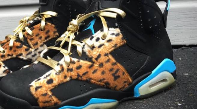 timeless design dfc8c 92cae Enzo Amore s Custom Air Jordans for WWE Hell in a Cell
