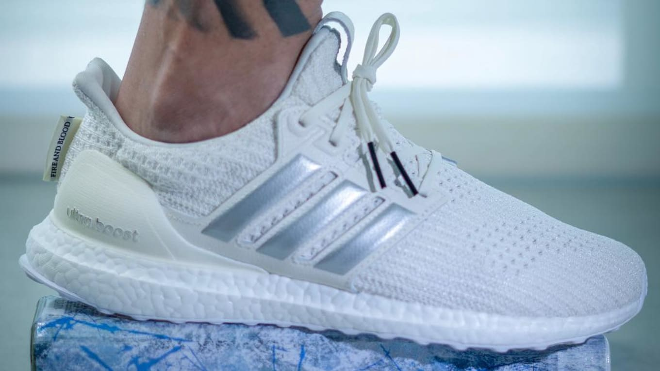 b7de31ef634 A Look at the  House of Targaryen  Game of Thrones x Adidas Ultra Boosts On- Foot