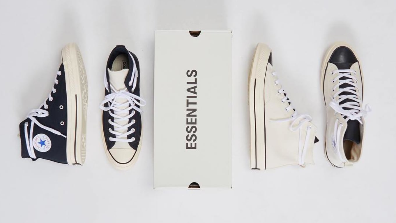 ac8ecb6a82f7 Fear of God Essentials x Converse Chuck 70 Release Date