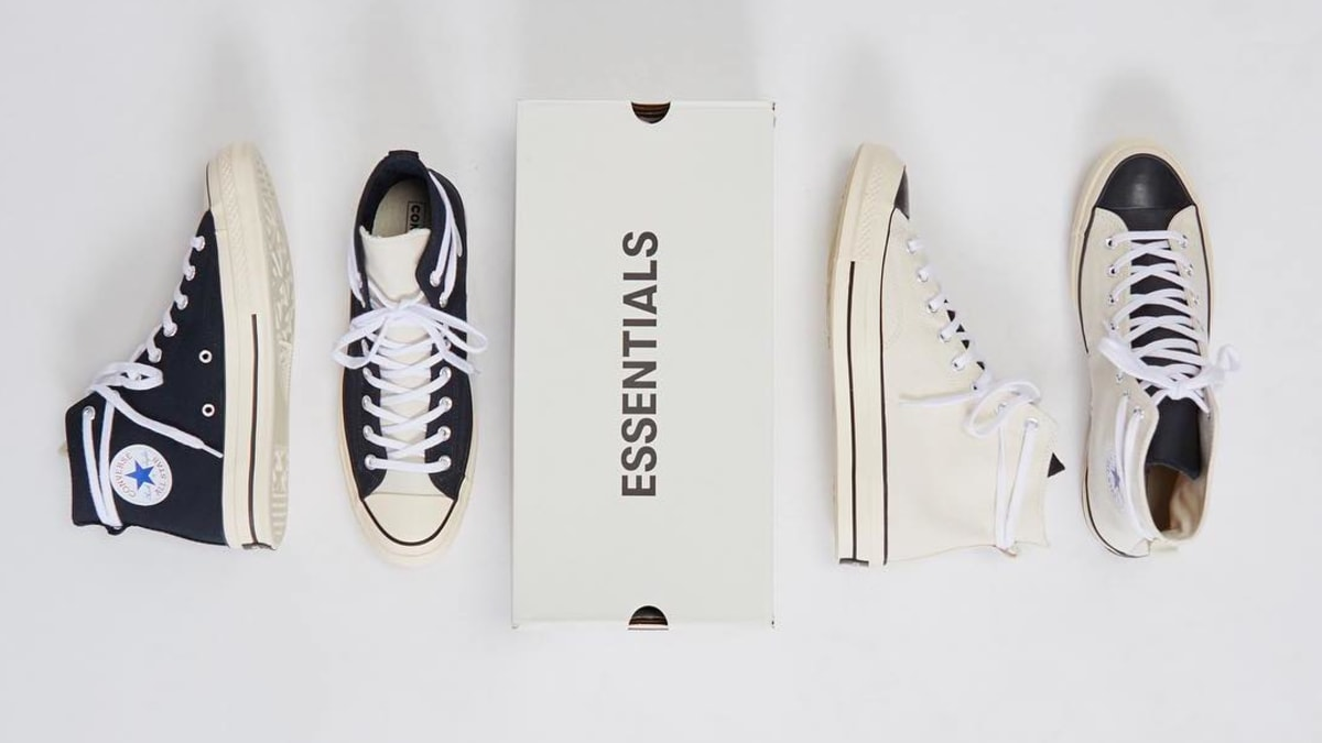 defeb18d8ba0 Fear of God Essentials x Converse Chuck 70 Release Date