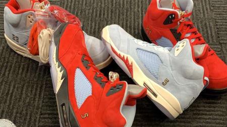 a50755fce88b P.J. Tucker Debuts Two Trophy Room x Air Jordan 5 Collaborations