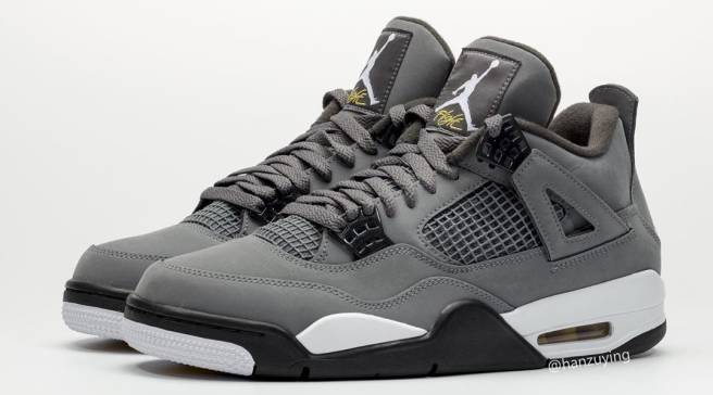 b2f111f1d41 First Look at the 'Cool Grey' Air Jordan 4 Returning This Summer