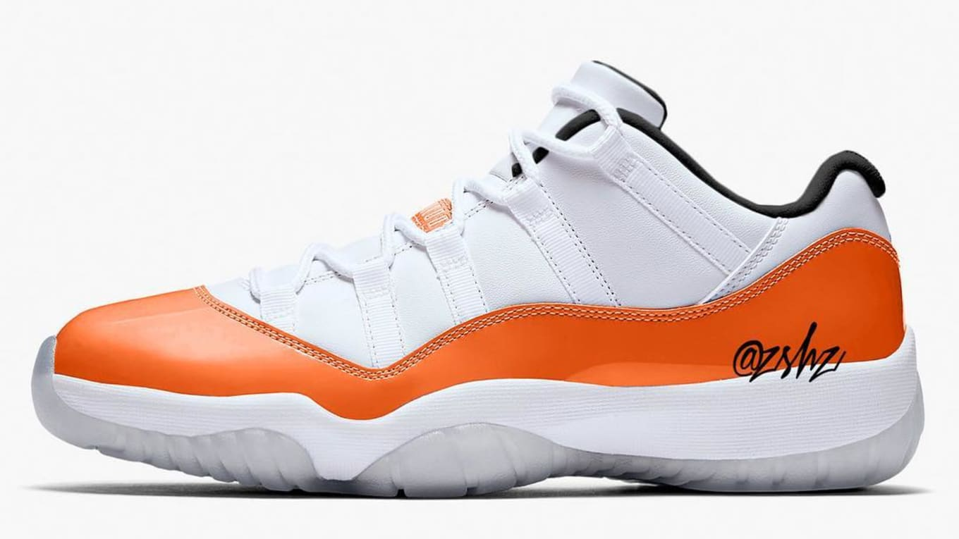 innovative design 9c38e 3eae4 Air Jordan 11 XI Low Orange Trance Release Date AH7870-106 ...